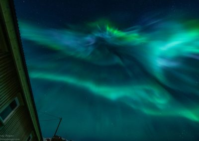 Corona over Nyksund - Foto: Benny Høynes