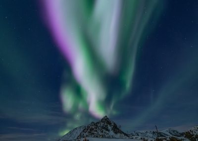 Aurora Borealis over Nyken - Foto: Benny Høynes