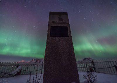 Fra Kroknesbrekka på tur ut mot Nyksund - Foto: Benny Høynes