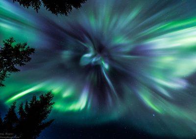 Aurora Borealis Corona - Foto: Benny Høynes