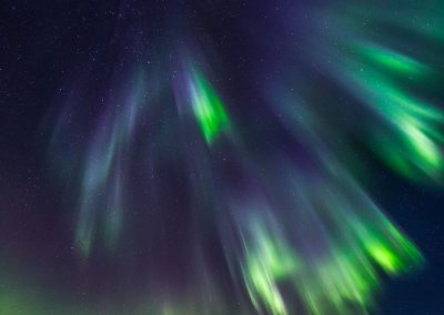 Northern lights over Vesterålen - Foto: Benny Høynes