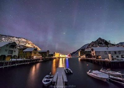 Nyksund havn for noen år siden - Foto: Benny Høynes