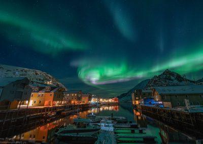 Nortern Lights over Nyksund