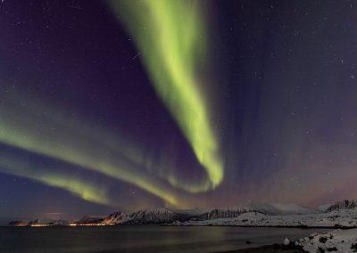 Aurora Borealis over Andøya
