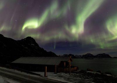 Northern Lights at Nyken
