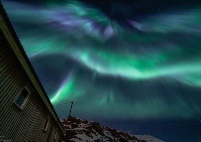 Aurora Borealis over Nyksund