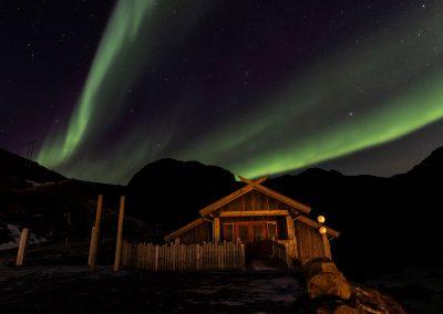 Aurora Borealis over Nyken